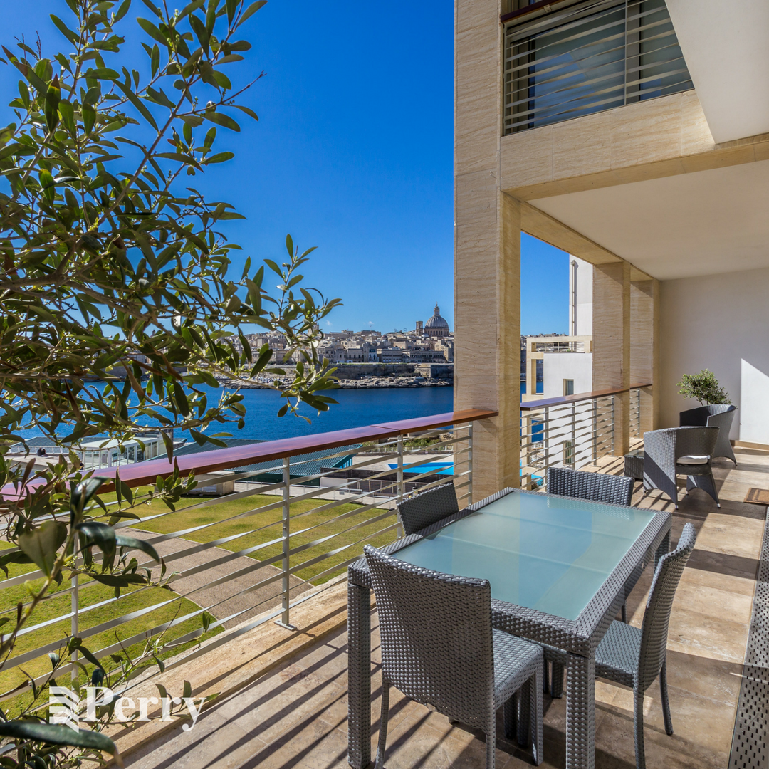 Apartment at Tigne Point in Malta with a Valletta view ...