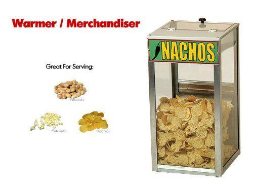 Benchmark 100 Quart Warmer Merchandiser For Popcorn Peanuts Or Nacho Chips Benchmark Nacho Chips Warmers Popcorn