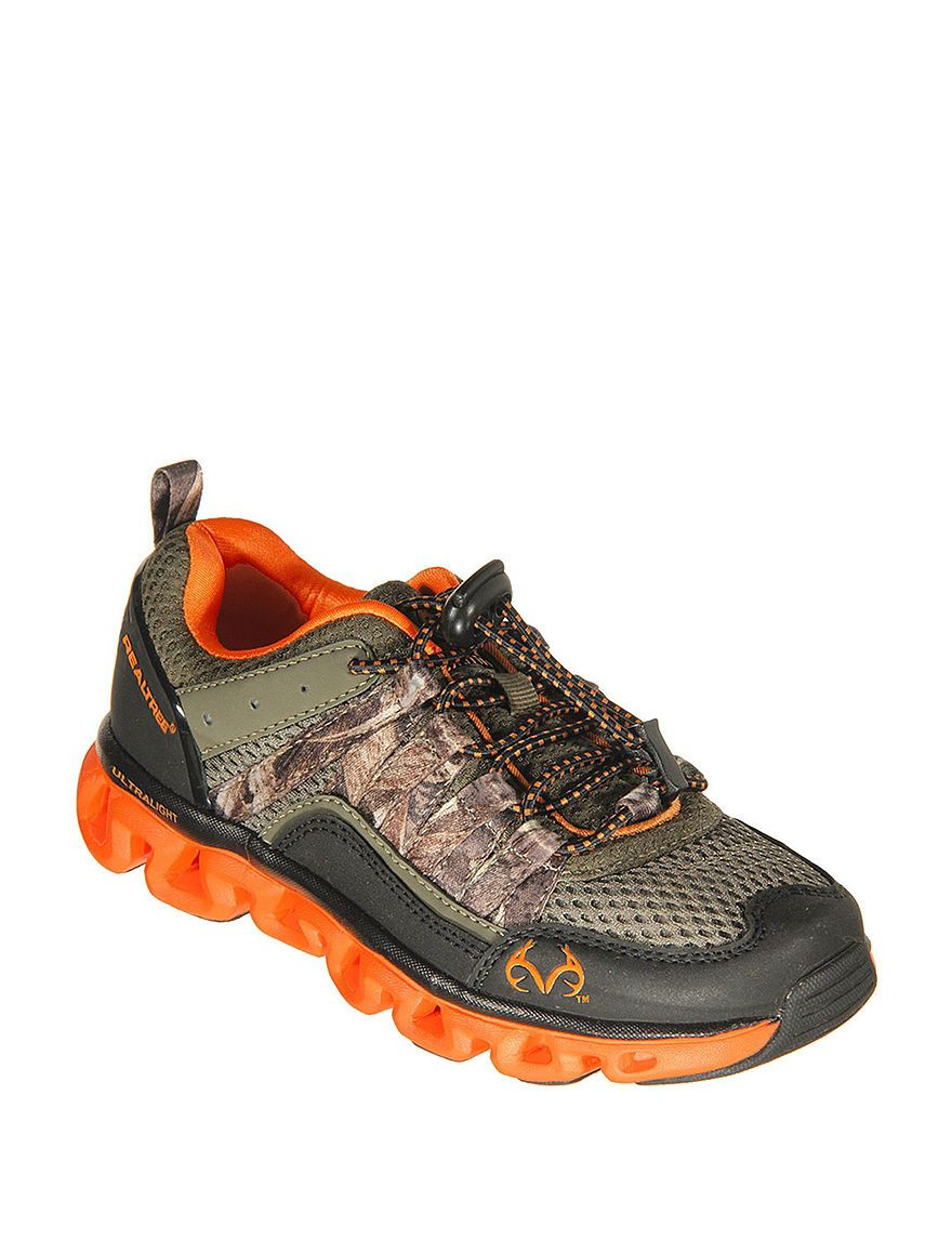 fd471a2be8e41 Realtree® Shark Jr. Athletic Shoes – Boys 12-4 | Stage Stores | Camo ...