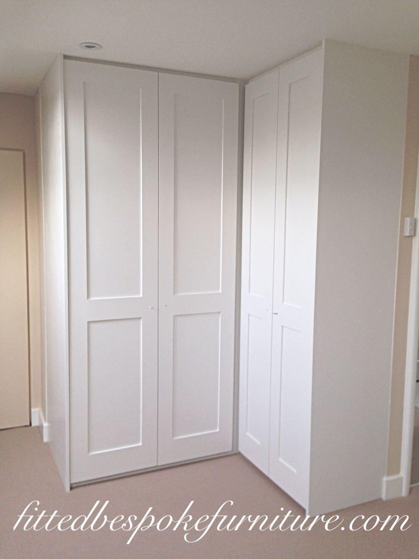 l shaped wardrobe loft conversion space shaker panel. Black Bedroom Furniture Sets. Home Design Ideas