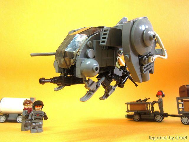 ICC Serra | Light Skirmisher Gunship | icy cruel | Flickr