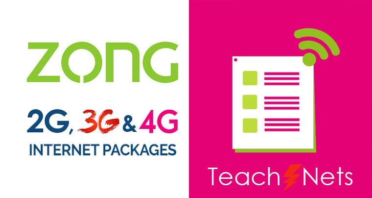 In The Zong Weekly Internet Package Zong Also Offers A Variety Of Zong Internet Package Weekly For Its Customers Check Them Internet Packages 4g Internet Internet