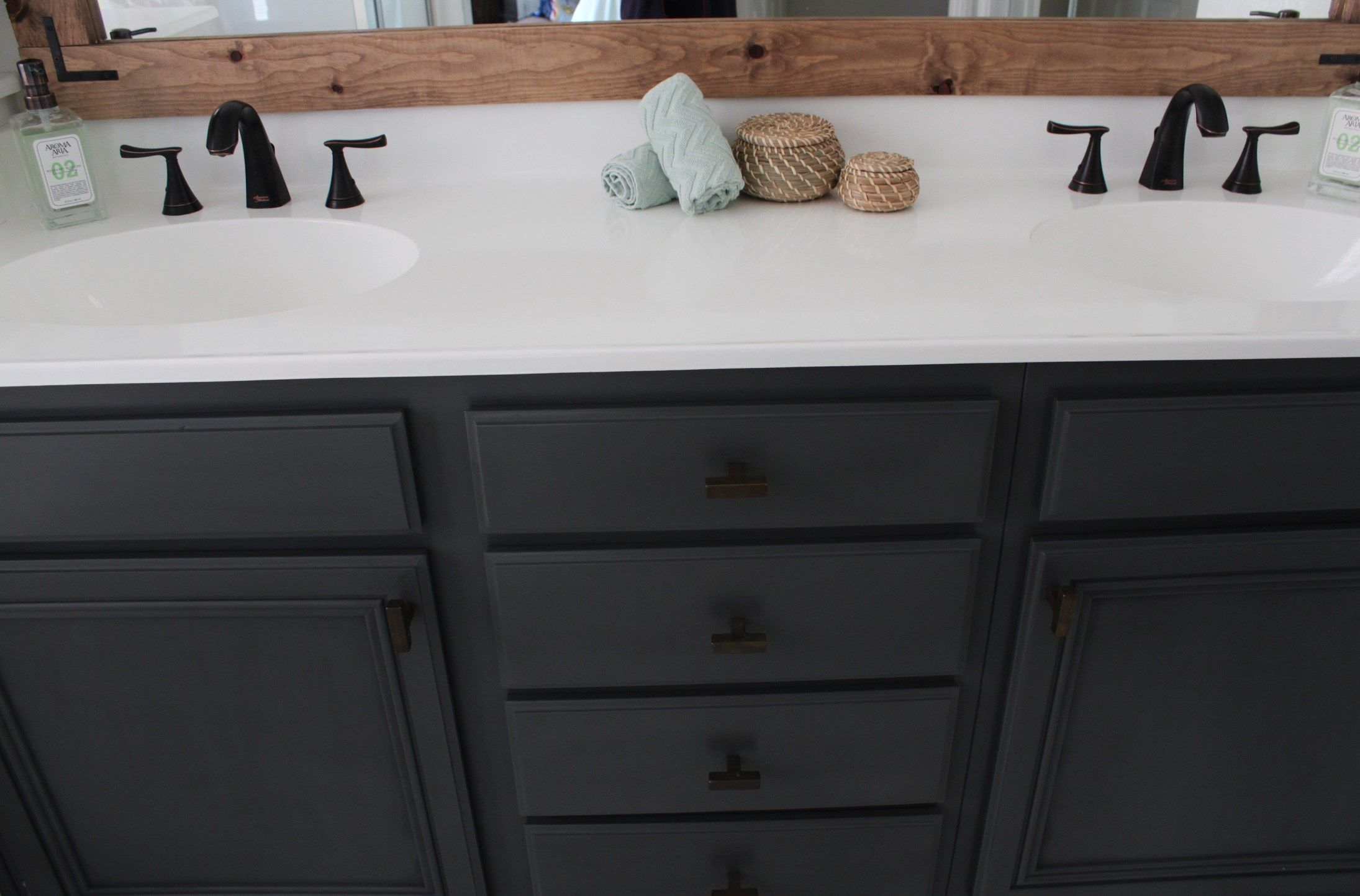 How To Refinish Bathroom Countertops Domestic Blonde Bathroom