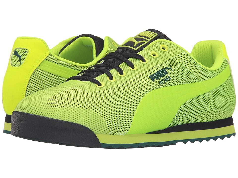 Puma Roma HM Safety yellow, Ponderosa pine Sneakers