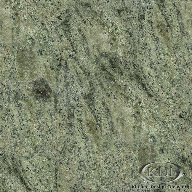 Multicolor Green Granite - Kitchen Countertop