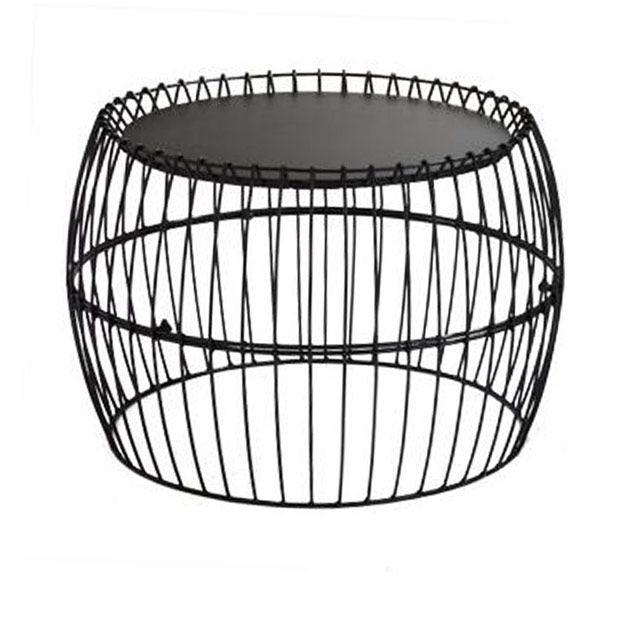table basse filaire noire castorama