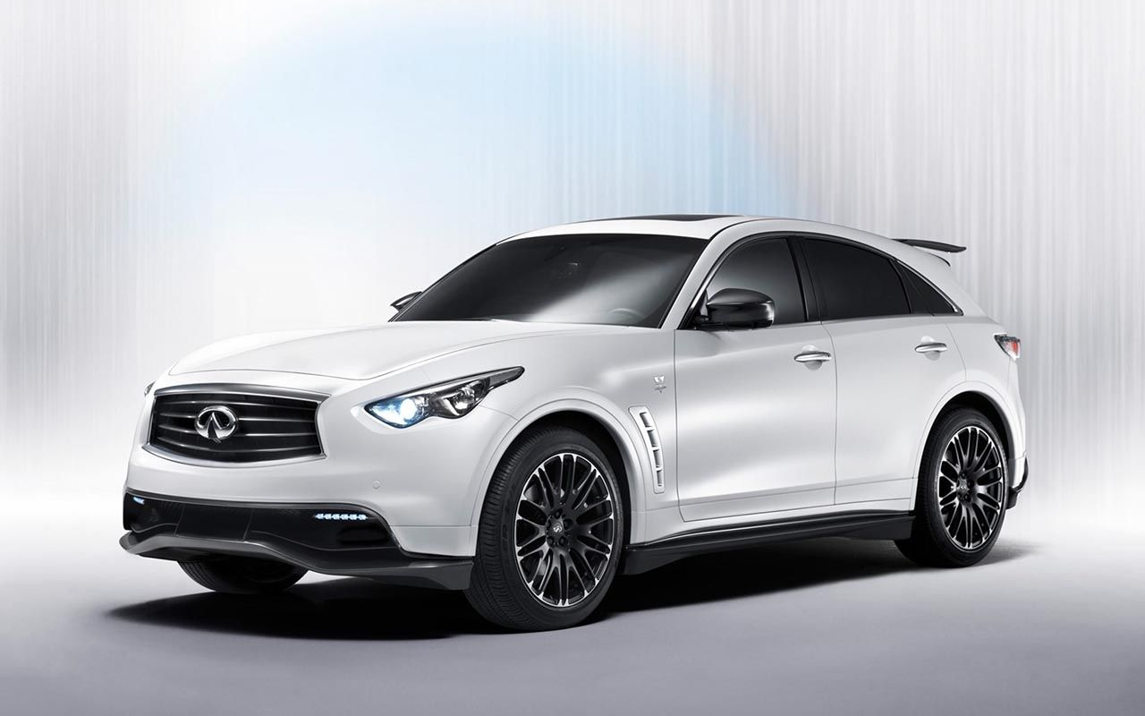 A special crossover premiering at the 2011 frankfurt motor show the infiniti fx sebastian vettel version is a racing inspired utility