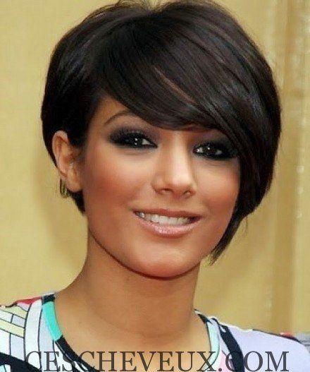 Coupe courte de cheveux pour femmes sur cheveux fins et clairsemГ©s