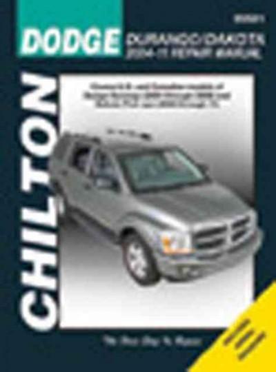 chilton s dodge durango dakota 2004 11 repair manual covers all rh pinterest com Chevy 4x4 Repair Manual Chilton Repair Manuals Ford