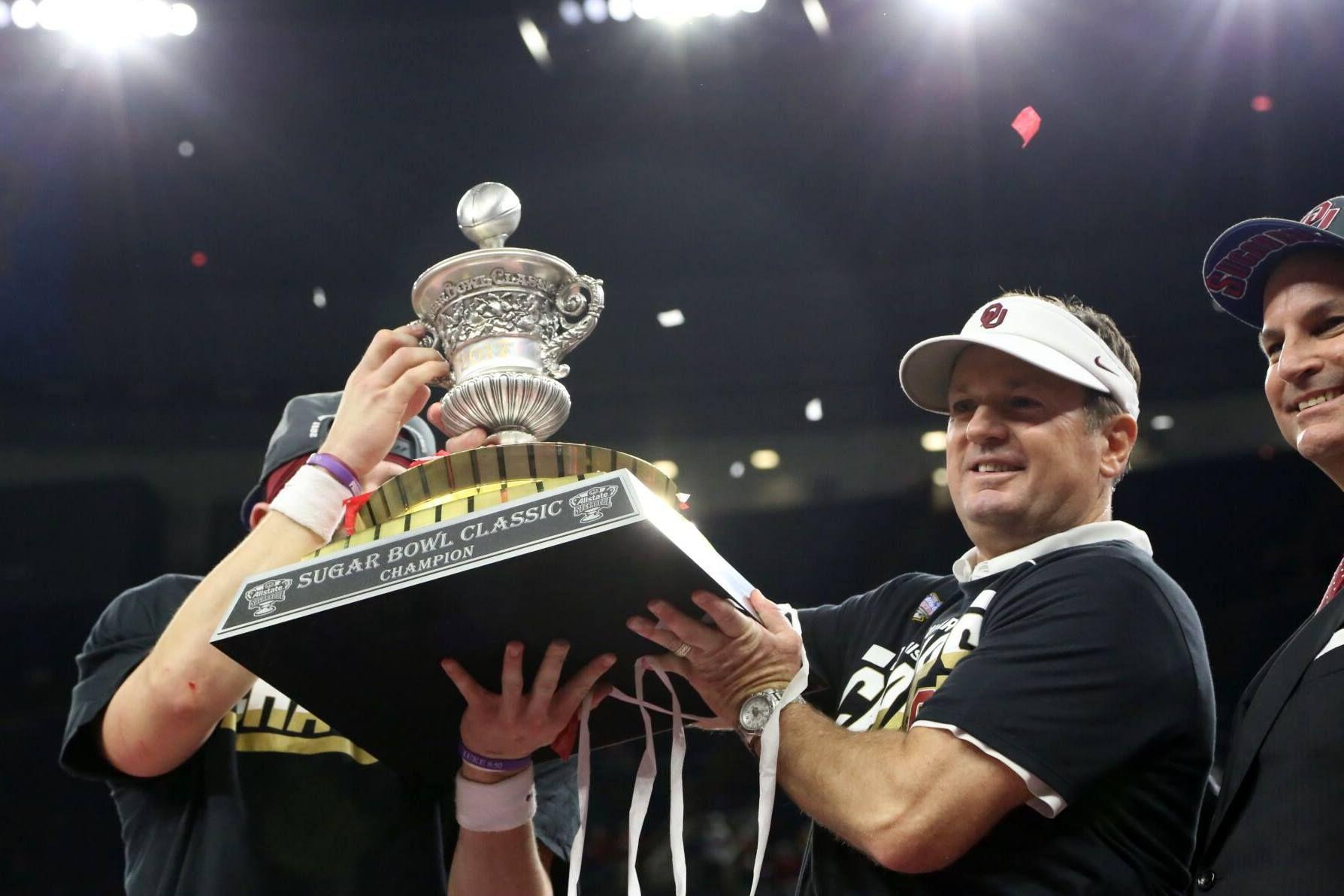2016 Sugar Bowl OU beats Auburn 35-19.   Oklahoma sooners ...