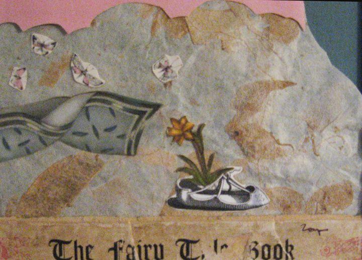 fairy tale paper collage by zoya scholis