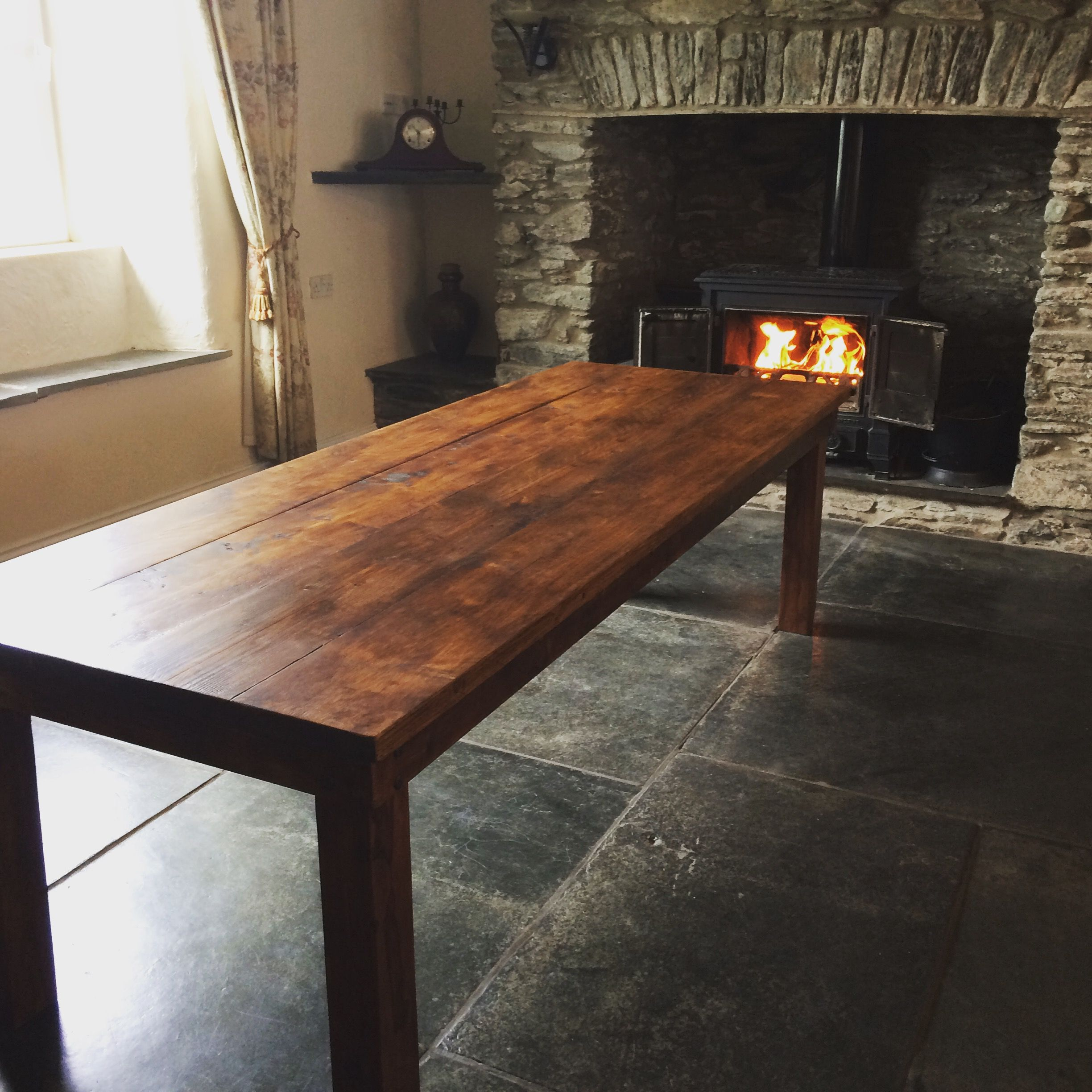 Rustic 8ft Dining Table This Is The Largest Table I Ve Made Thus