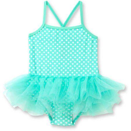 39e538d55 Op Newborn Baby Girl Kisses Skirted Tutu 1 Piece Swimsuit