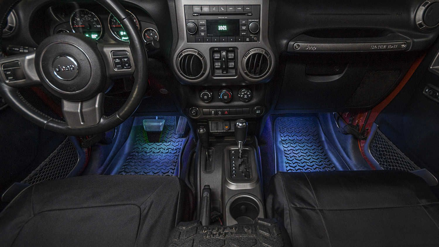 Rugged Ridge Interior Courtesy Lighting Kit For 07 20 Jeep Wrangler Jl Jk Gladiator Jt Jeep Interiors Jeep Jeep Wrangler
