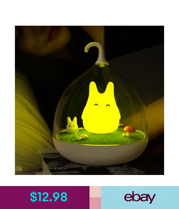 Rechargeable Smart Touch Sensor Led Birdcage Totoro Night Light Usb Cable Ebay Home Garden Baby Night Light Childrens Night Light Cute Night Lights