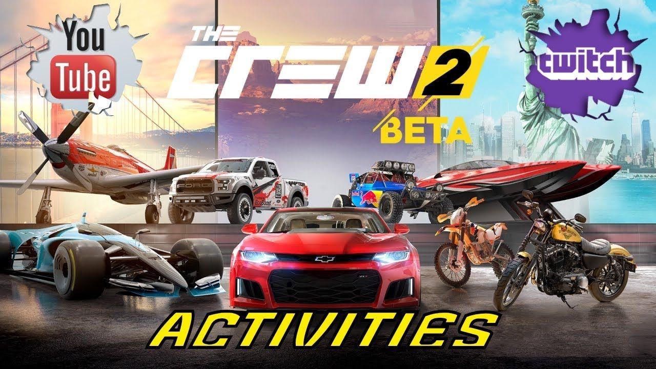 The Crew 2 Closed Beta Gameplay Walkthrough Series Part 4 Crew2 Thecrew2 Gta5 Battlefield1 Overwatch Ps4 Ps4pro Thumbnai Ubisoft Crew Retro Video Games