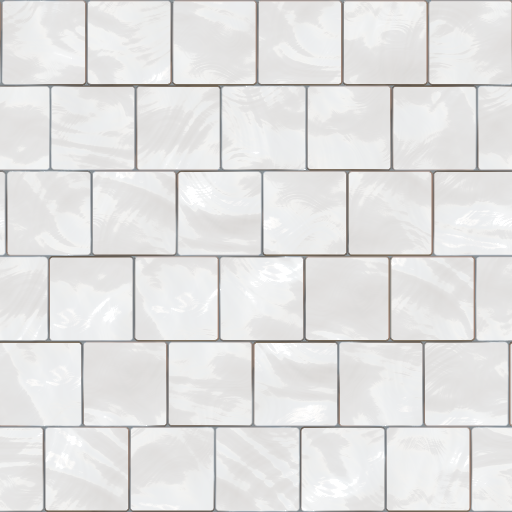 White Bathroom Tile Texture With