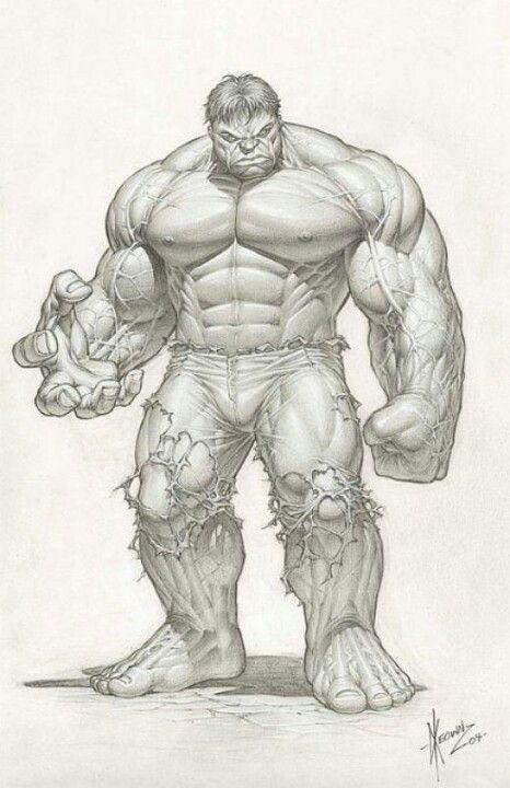Hulk pencils by Dale Keown | comics | Pinterest | Dibujo y Arte