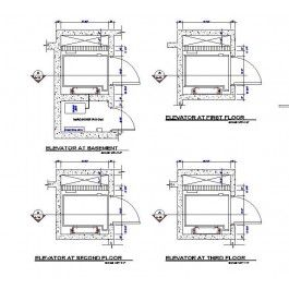 Lift Design Plan dwg | Cad drawing | Lift design, Design, Cad drawing
