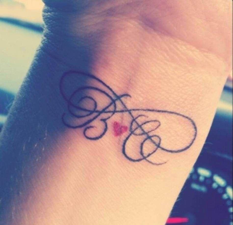 Infinito Iniciales Tatuajes Ideas Dibujos Para Tatuar Tatuajes