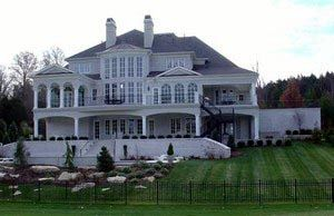 Greek Revival Style House Plan with 5 Bed 7 Bath 4 Car Garage