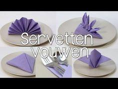 Napkin folding - How to fold napkins: Star - Napkin folding tutorial for christmas - Easy