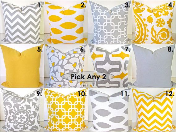 throw pillows for couch target decorative with fringe set pick two grey yellow ideas