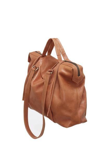 93de98202b2e Saben Baby Regan Chocolate Tan Leather Handbag Cross-body New Zealand