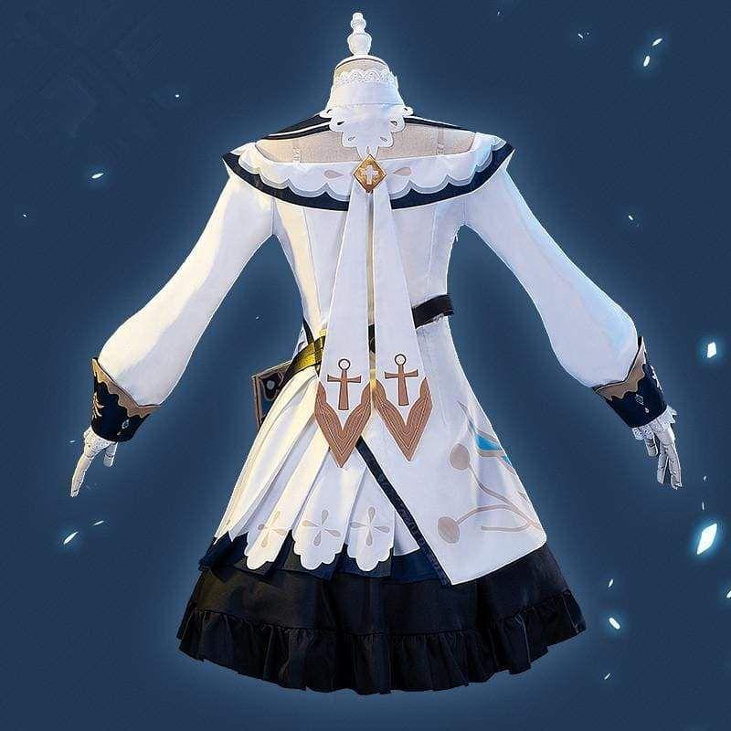 Photo of Anime Genshin Impact Barbara Cosplay Costume MK0651 – M