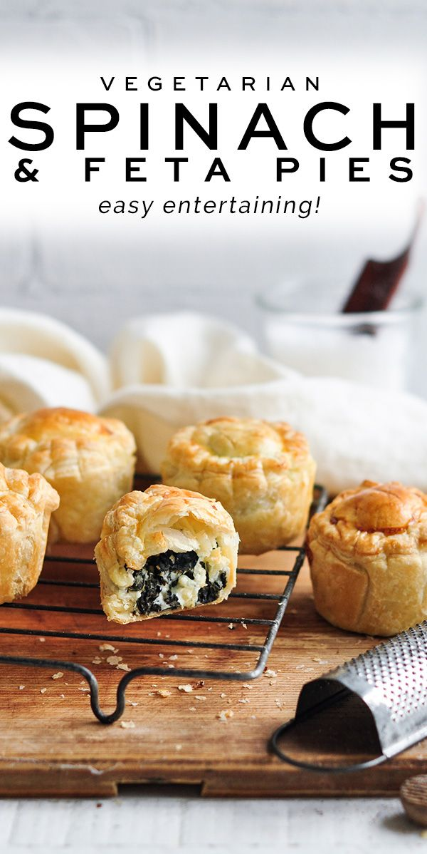 Spinach And Feta Pies