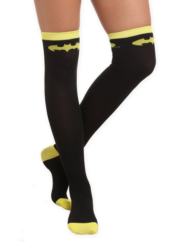 6225a0c021c DC Comics Batman Over-The-Knee Socks