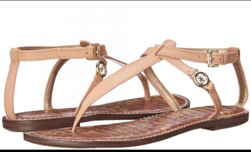 0e4cfc7d7c78 sam edelman 6.5 sandals Galia Tan  fashion  clothing  shoes  accessories   womensshoes  sandals (ebay link)