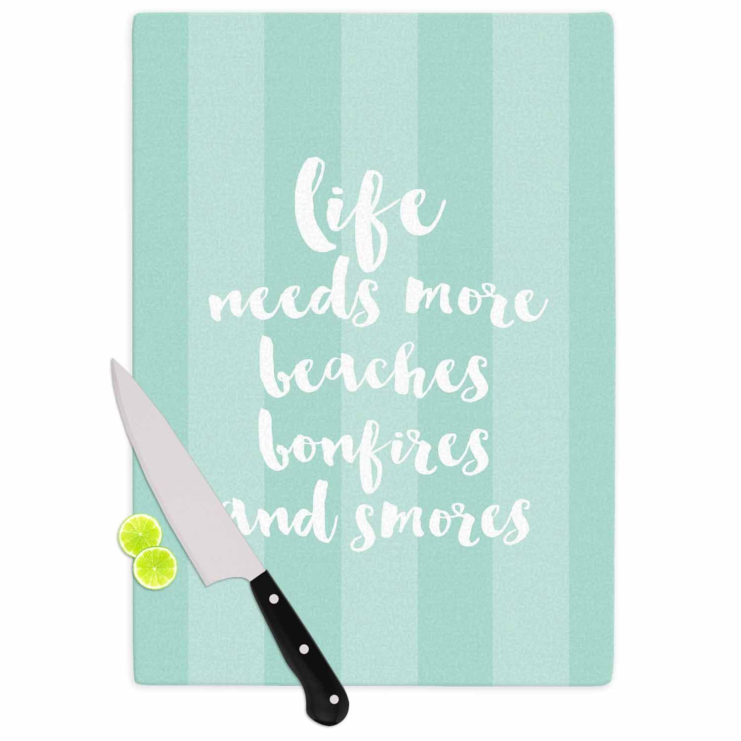 sylvia cook beaches bonfires mint green typography cutting
