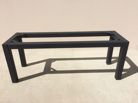 Metal Table Legs Easy To Assemble Or Fully Welded Parsons Bench