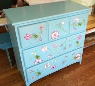 whimsy furniture. Whimsy Furniture - Unique, Hand-Painted T