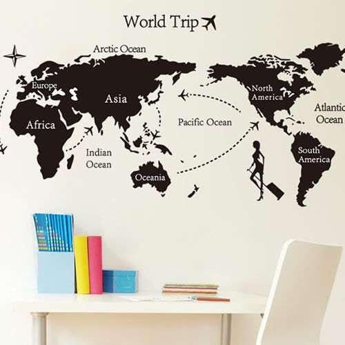 Special offer the world map wall stickers for living room bedroom special offer the world map wall stickers for living room bedroom office school classroom diy wallpaper gumiabroncs Images