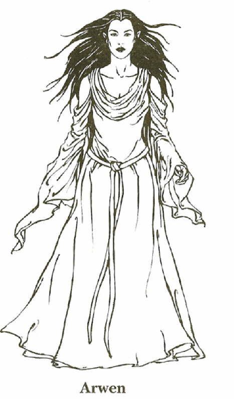 Pin de Arwendë Luhtiénë Emeldir Peredhel en The women of Tolkien\'s ...