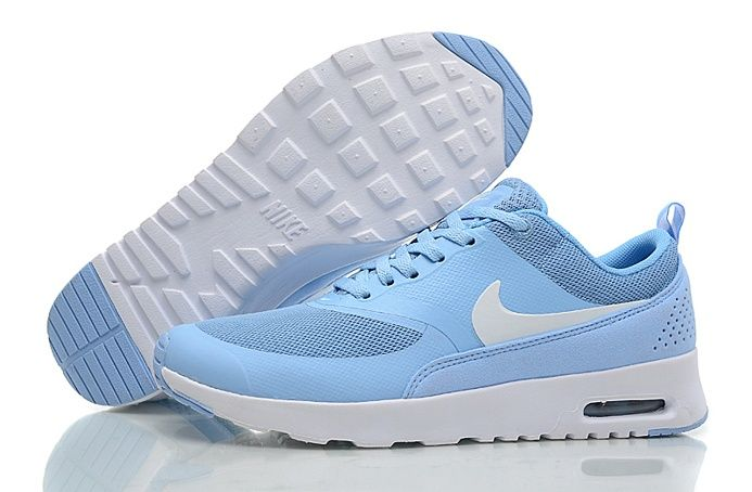 Nike Air Max 90 87 Womens Shoes Baby Blue White