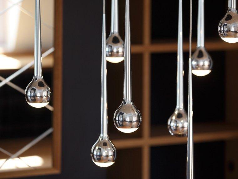 Luminária pendente LED de alumínio FALLING WATER Coleção FALLING by Tobias Grau | design Tobias Grau