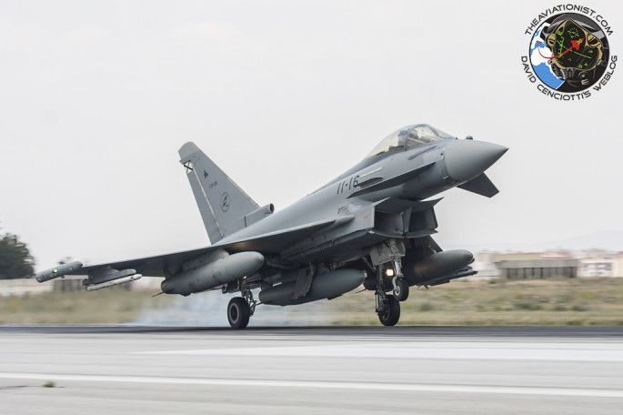 Spanish Air Force Brought Tactical Expeditionary Group To Anatolian Eagle 2014 2 In Turkey Of 6 Eurofighter Typhoon C16s From Ala 14 At Albacete For