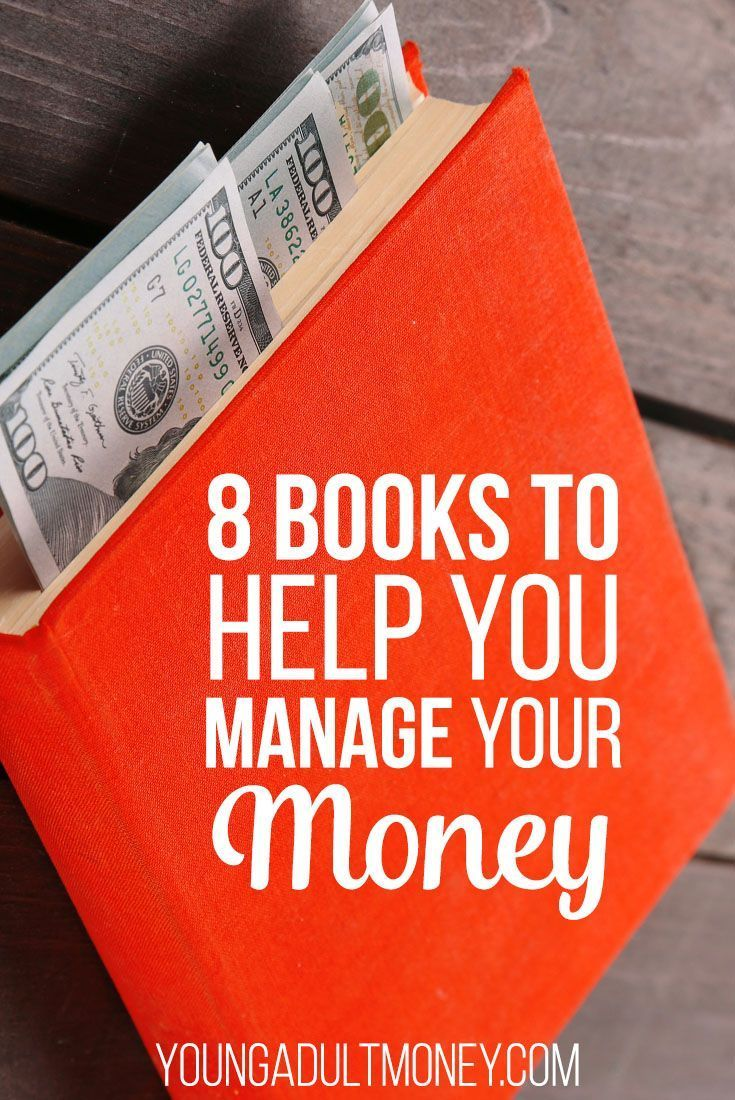 8 Books That Help You Manage Your Money