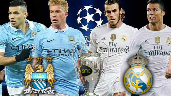 Predict Scores And Win Manchester City Vs Real Madrid Who Takes The First Leg Ton Manchester City Champions League Semi Finals Zinedine Zidane Real Madrid