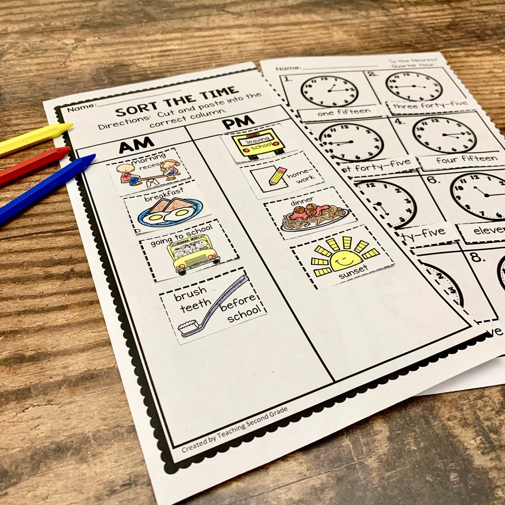 Telling Time And Ways To Teach It In Your Second Grade