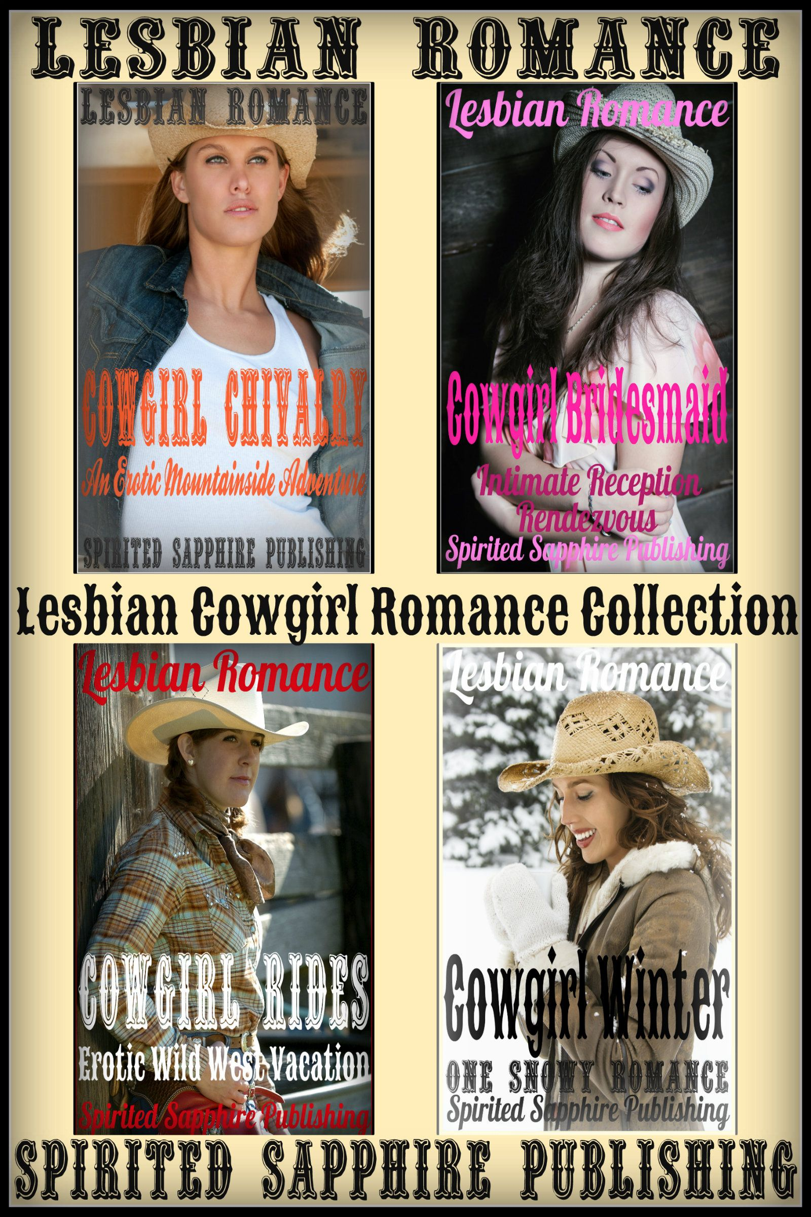 Lesbian Romance Cowgirl Collection Story 1 Cowgirl Chivalry Erotic Mountainside Adventure Story 2