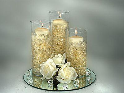 Decoracion para una boda de 50 aniversario mesas navidad for Decoracion 40 aniversario de bodas
