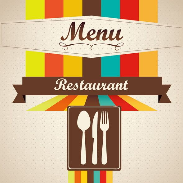Free Restaurant Menu Templates  Covers  Photoshop Source