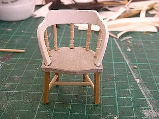 DIY miniatures chair