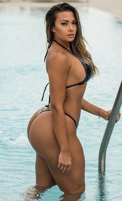 Latina bikini thong