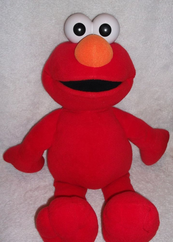 Big Book Elmo Huge Plush 30 Fisher Price Giant Stuffed Animal