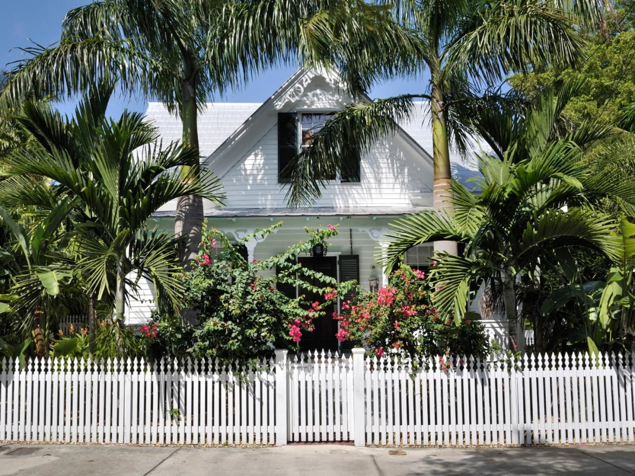 key west style homes - Key West Style Home Decor